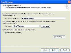 Outlook 2003 Caching