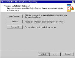 ADC upgrade to Exchange Server 2003