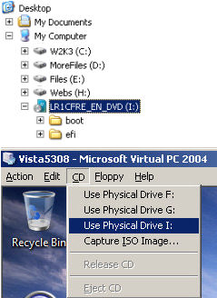 Install Windows Vista Beta 2