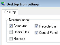 Change Desktop Icons - Vista Registry Hack