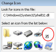 shell32.dll Vista Shell Icons