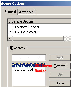 how to find prefered dns server