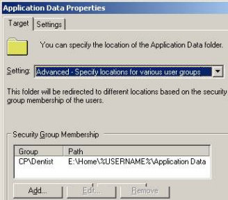 Group Policy - Folder Redirection