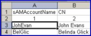 VBScript to create a user account from an Excel spreadsheet