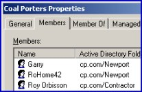 Example of a VBScript to add members to a group in Active Directory