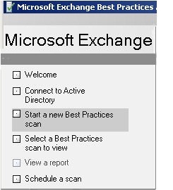 Microsoft ExBPA 2010 Exchange Best Practice Analyzer
