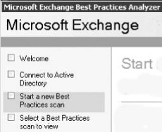 Exchange Best Practices Analyzer tool