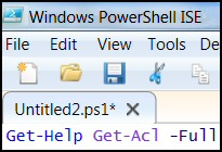 Windows PowerShell Get-Help
