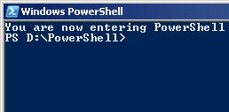 PowerShell Profile Command Line