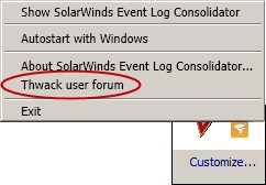 Event Log Consolidator Thwack Forum