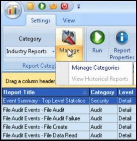 Solarwinds Log and Event Management Tool