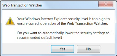 Solarwinds Web Transaction and Application Browser Tool