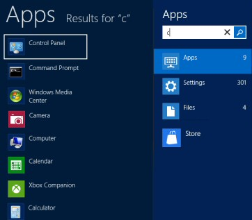 Windows 8 Apps -v- Programs