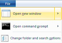 Windows 8  Change Folder and Search Options