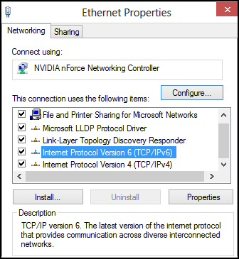 how to change ipv4 in windows 8