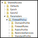 Windows 8 Registry Disable Firewall