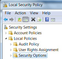 Windows 8 Secpol Security Policy