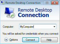 Windows 8 Remote Desktop Connection