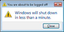 Windows Server 2008 Shutdown Command Line