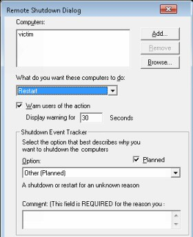 Windows 7 Shutdown Tip