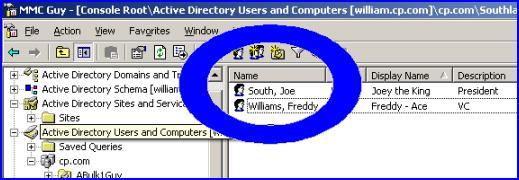 ADSI Edit Example - To change the Display Name