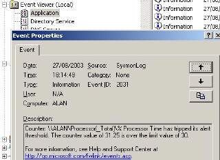 Alert Event Viewer