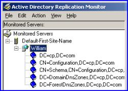 Replmon Windows Server 2003 Replication Monitor