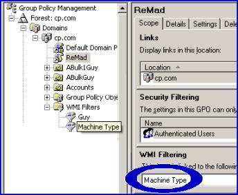 WMI Filter for Group Policy