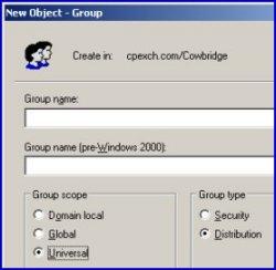 Universal Distribution Group Exchange 2003