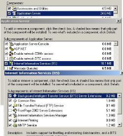 Install Exchange Server 2003 Dependencies