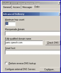 Exchange 2010 DNS MX Records