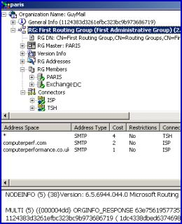 Microsoft Winroute 2003 Exchange Server Connections