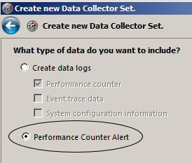 Data Collection Alerts - Windows 2008