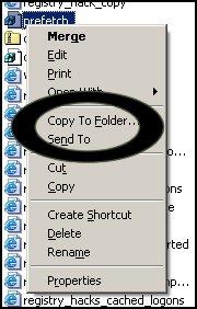 Adding Copy To - Context menu Explorer