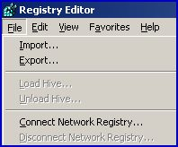 Remote Registry Connect to Network Registry