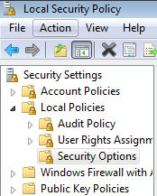 Local Security Policy.  Turn Off nagging Vista UAC