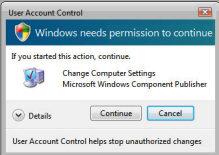 Vista Registry Hack - ConsentPromptBehaviorAdmin