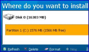 Vista Build 5112 Install
