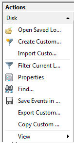 Windows 8 - Event Viewer Custom Views