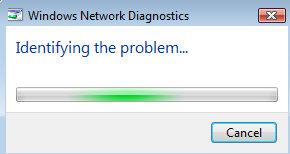 Vista Diagnostics Tool - Identifying the problem