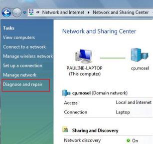 Windows Vista - Diagnostics