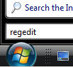 Windows Vista Regedit and IsNotShortCut