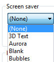 Configure Server 2008 Screen Saver