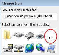 shell32.dll Vista Shell Icons