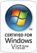 Certified for Vista logo