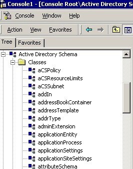 Windows Server 2003 Schema Admin Explained