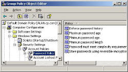 Windows Server 2003 Accounts Security