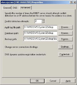 DHCP Conflict Detection Server Ping