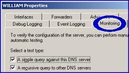 DNS Server Icon - Monitoring Windows Server 2003