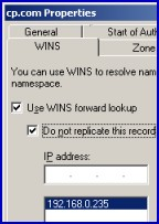 WINS and DNS integration in Windows Server 2003